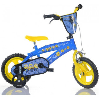 """DINO Bikes - Dětské kolo 12"""" BMX Mimoni"""