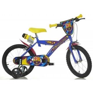 """DINO Bikes - Dětské kolo 14"""" FC Barcelona"""