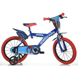 """DINO Bikes - Dětské kolo 14"""" Spiderman Home"""