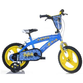 """DINO Bikes - Dětské kolo 14"""" BMX Mimoni"""
