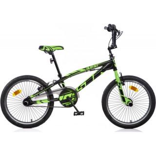 "DINO Bikes - Dětské kolo 20"" Aurelia Freestyle zelené"