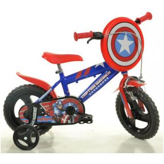 "DINO Bikes - Dětské kolo 12"" Kapitán Amerika"