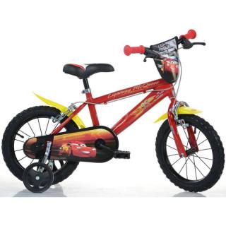 """DINO Bikes - Dětské kolo 14"""" Cars 3"""