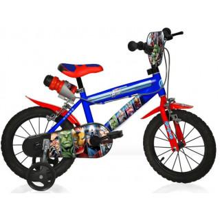 "DINO Bikes - Dětské kolo 16"" Kapitán Amerika"