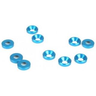 Podložka pod šrouby ZH M4 modrá (10)
