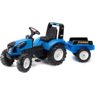 FALK - Šlapací traktor Landini s vlečkou
