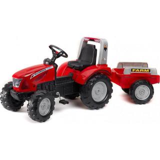 FALK - Šlapací traktor McCormick s vlečkou