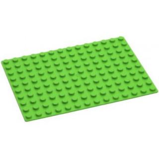 HUBELINO Podložka na stavění 14 x 10 bodů zelená