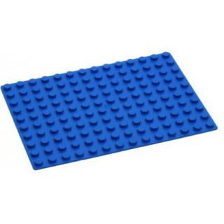 HUBELINO Podložka na stavění 14 x 10 bodů modrá