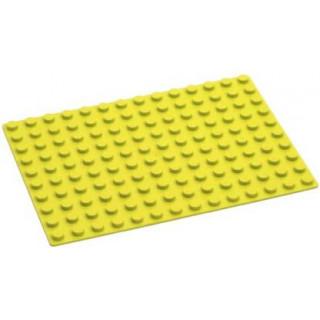 HUBELINO Podložka na stavění 14 x 10 bodů žlutá