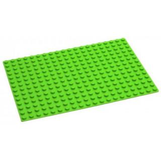 HUBELINO Podložka na stavění 20 x 14 bodů zelená