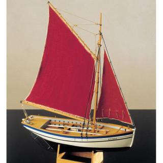 COREL Sloup rybářská loď 1:25 kit