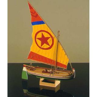 COREL Paranza rybářská loď 1:25 kit
