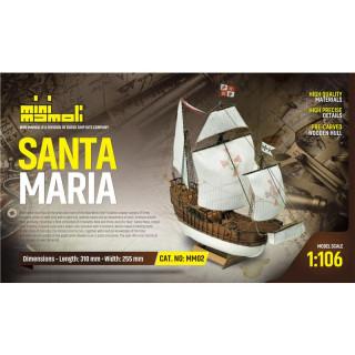 MINI MAMOLI Santa Maria 1:106 kit