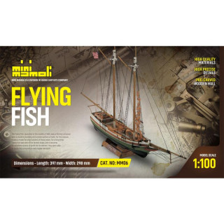 MINI MAMOLI Flying Fish 1:100 kit