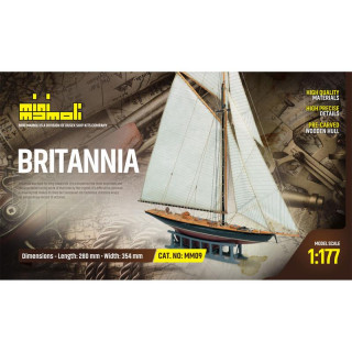 MINI MAMOLI Britannia 1:177 kit