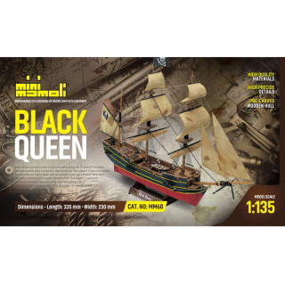 MINI MAMOLI Black Queen 1:135 kit