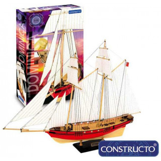 CONSTRUCTO Dominica škuner 1:88 Adventure kit