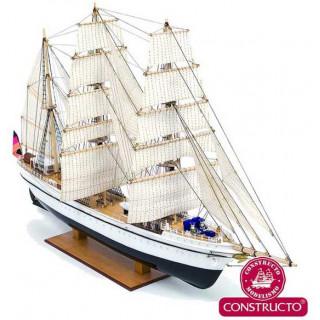 CONSTRUCTO Gorch Fock školní plachetnice 1:187 kit