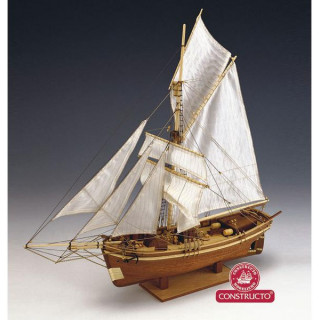 CONSTRUCTO Gjoa polární loď 1872 1:64 kit