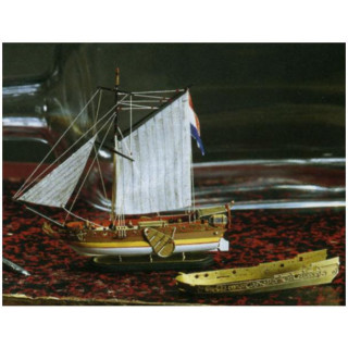 AMATI Golden Yacht 1:300 kit do láhve