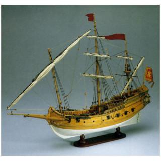 AMATI Polacca benátská loď 1750 kit