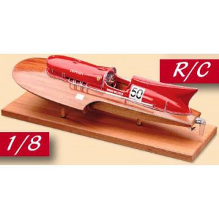 AMATI Arno XI Ferrari závodní člun 1:8 kit