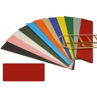 Krick potahový papír červený 18g/m2 51x76cm (2)