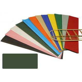Krick potahový papír tmavě zelený 18g/m2 51x76cm (2)