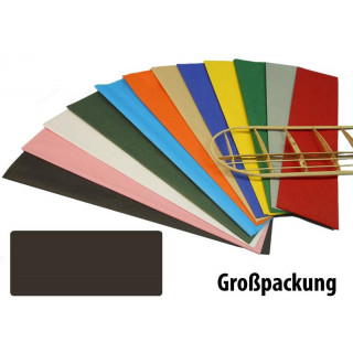 Krick potahový papír černý 18g/m2 51x76cm (50)