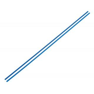 Anténové trubičky RC AUTA 2 ks. - modré