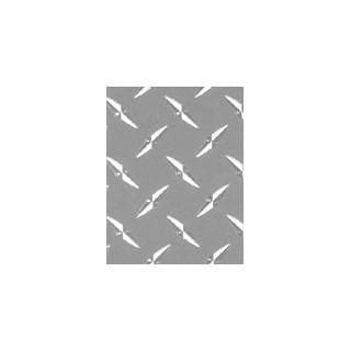 XXX Main - Airbrush nálepka - 3Chrom Diamond Plate 20x28 cm