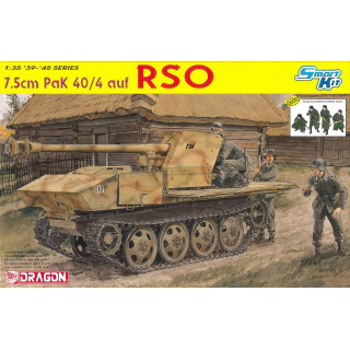 Model Kit military 6640 -7.5cm PaK 40/4 auf RSO  (1:35)