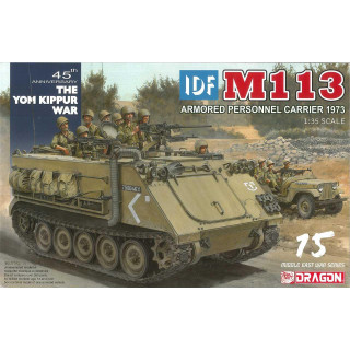 Model Kit military 3608 - IDF M113 Armored Personnel Carrier Yom Kippur War 1973 (1:35)