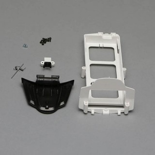 Q500 - držák a víko LiPo sady