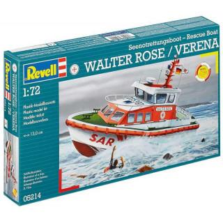 Plastic ModelKit loď  05214 - Seenotrettungsboot WALTER ROSE / VERENA  (1:72)