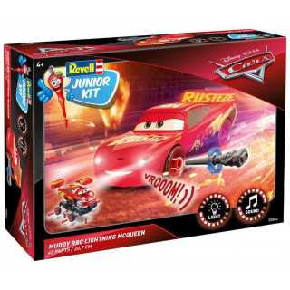 Junior Kit auto 00864 - Cars 3 - Lightning McQueen Crazy 8 Race (1:20)