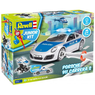 Junior Kit auto 00818 - Porsche 911 Police  (1:20)