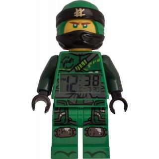 LEGO hodiny s budíkem - Ninjago Lloyd