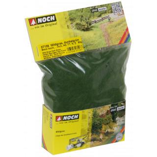 Divoká tráva, tmavě zelená, 6mm, 50g