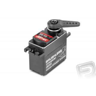 HSB-9381 TH BRUSHLESS HiVolt DIGITAL (kovová krabička) -Použité