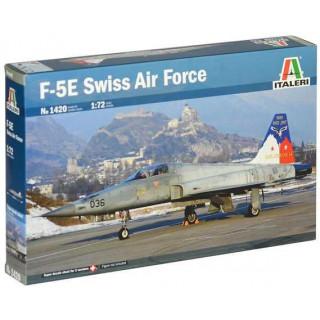 Model Kit letadlo 1420 - F-5E Swiss Air Force (1:72)