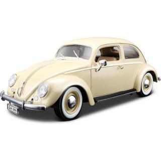 Bburago Volkswagen Käfer-Beetle 1955 1:18 krémová (2ks)