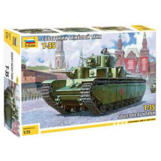Model Kit tank 5061 - Soviet Heavy Tank T-35 (1:72)