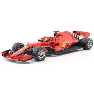 Bburago Ferrari Racing SF17-H 1:18 NO5 Vettel