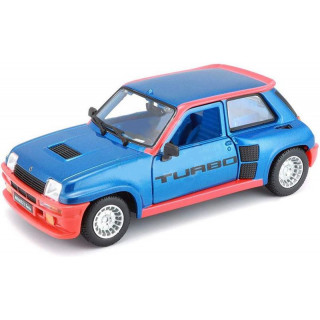 Bburago Renault 5 Turbo 1:24 modrá