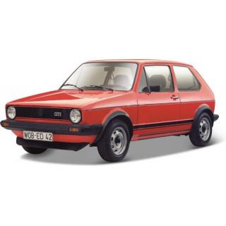 Bburago Volkswagen Golf MK1 GTI 1:24 červená