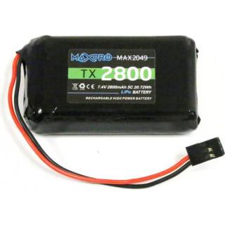 Futaba baterie vysílače LiPo 7.4V 2800mAh