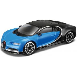 Bburago Bugatti Chiron 1:43 modrá