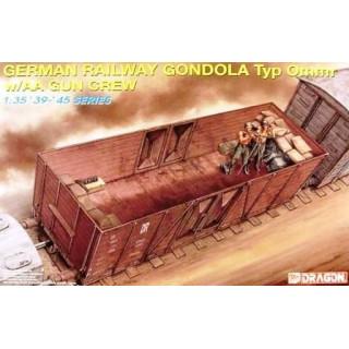 Model Kit vagón 6086 - GERMAN RAILWAY GONDOLA (1:35)